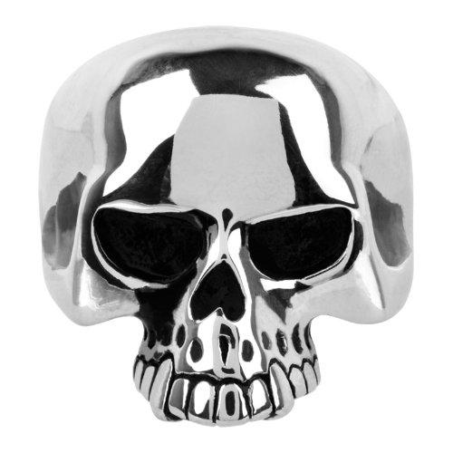 Inox Large Skull wit…