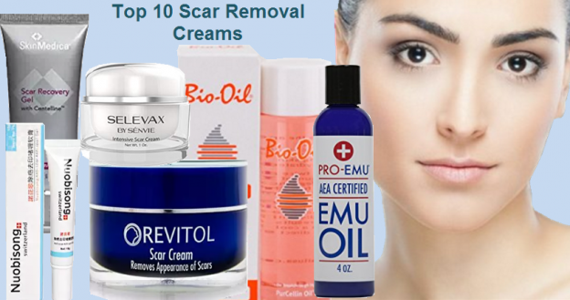 Top 10 Scar Removal Creams