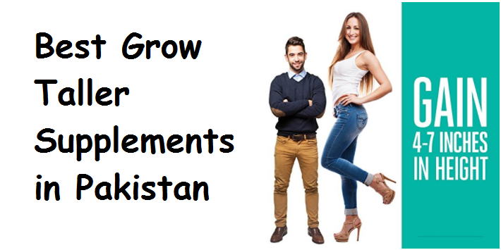 Best Grow Taller Supplements in Pakistan