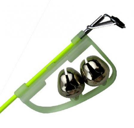 Fishing Tackle Green Rod Clip Tip Lights Fishing Bite Alarm