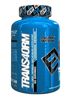 Evlution Nutrition Trans4orm Thermogenic Energizer for Weigh…