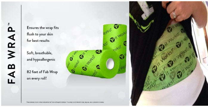 It Works Fab Wrap Roll Body Shaper tape
