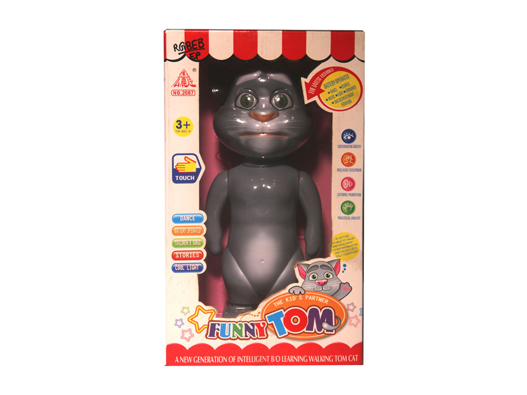 Funny talking tom baby toy