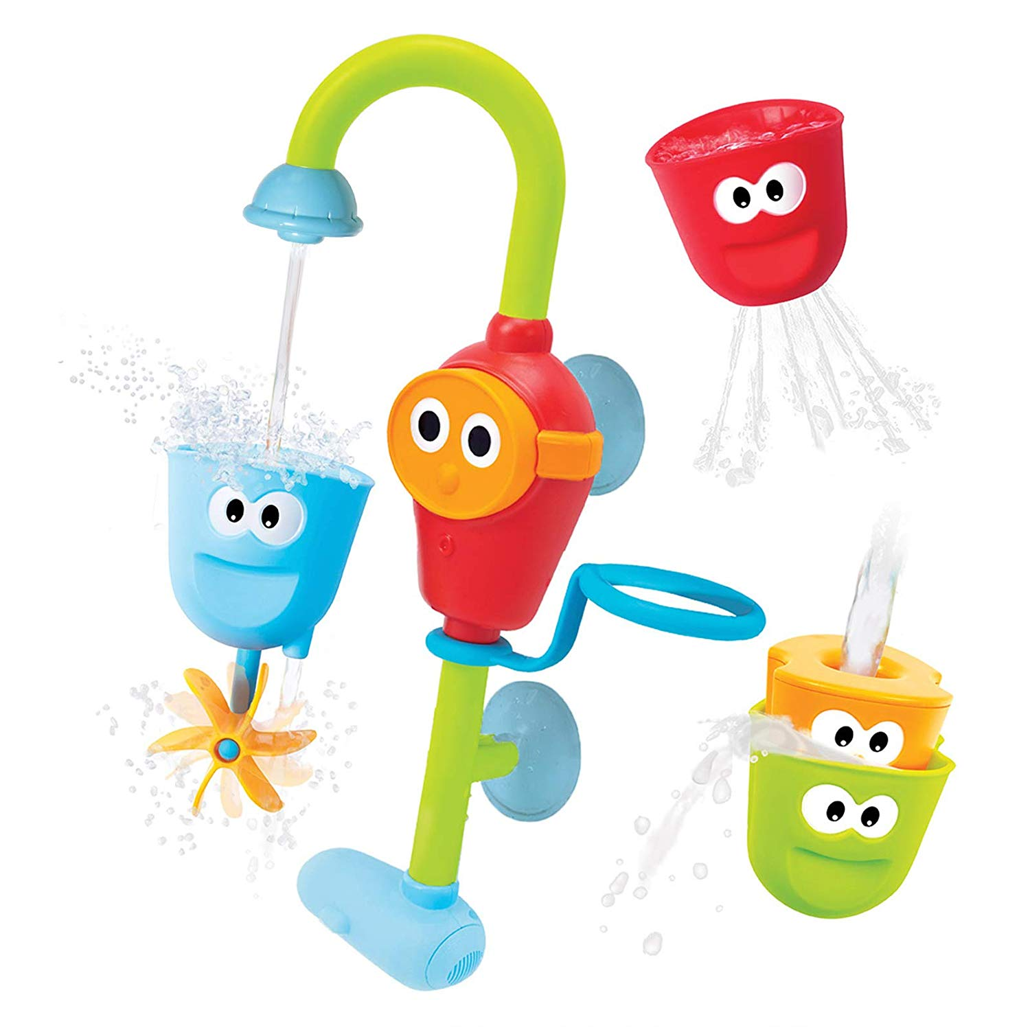 Yookidoo Flow N' Fill Spout Baby Bath Toy
