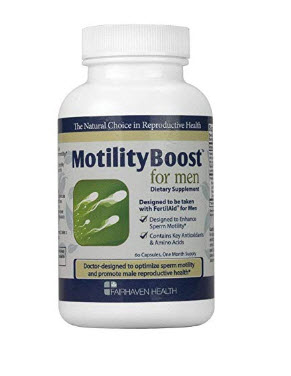 MotilityBoost for Men To Support Sperm Motility - 60 Capsule…