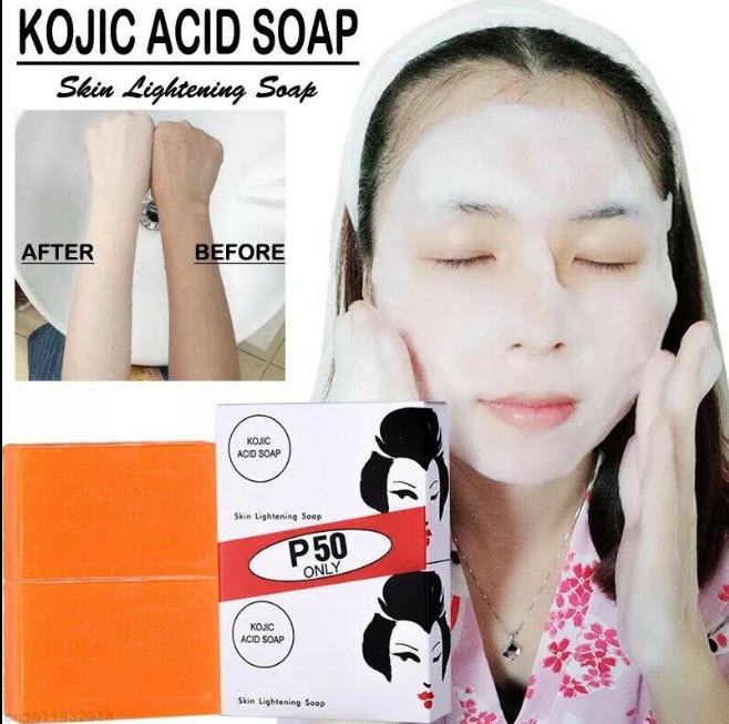 Kojie San Skin Lightening Kojic Acid Soap - 1 Pack