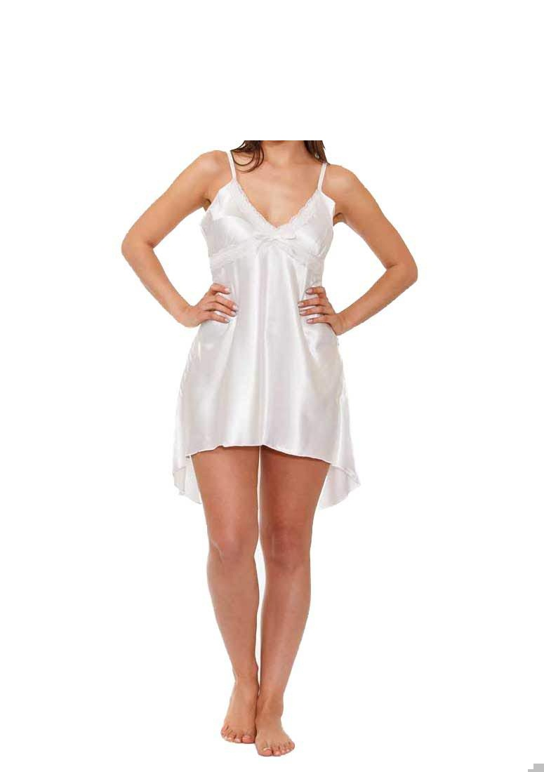 Night wear chemise in Ivory