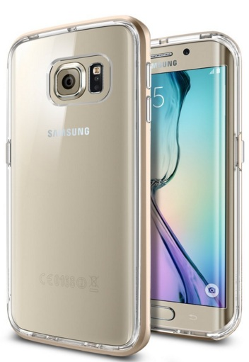 Neo Hybrid CC Case for Samsung Galaxy S6 Edge Clear Back Pan…