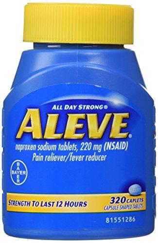 Aleve Fever, Pain Reliever - 320 Caplets