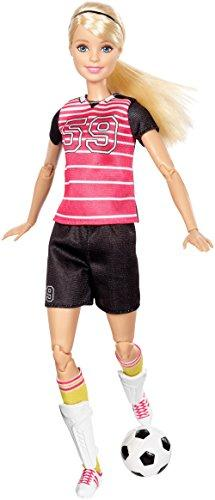 Barbie Posable Soccer Player Doll