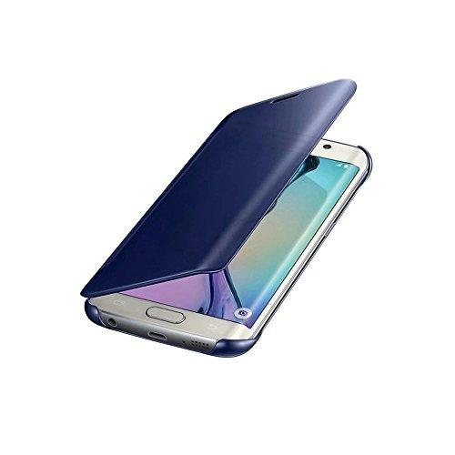 Camecho Luxury Mirror View Case for Samsung Galaxy S6 Edge