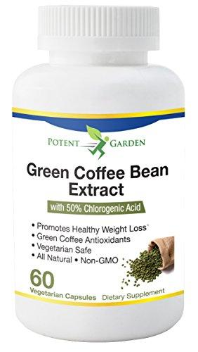 Potent Garden Green Coffee Bean Extract For Weight Loss