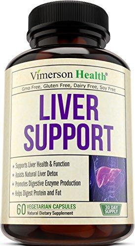 Liver Cleanse & Detox Support Supplement - 60 Caps