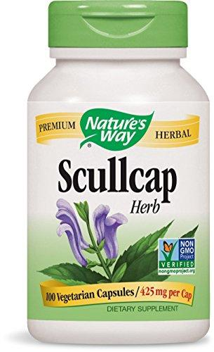 Nature's Way Scullcap Herb - 100 Capsule