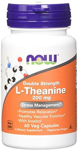 NOW L-Theanine Stress Management - 60 Capsules
