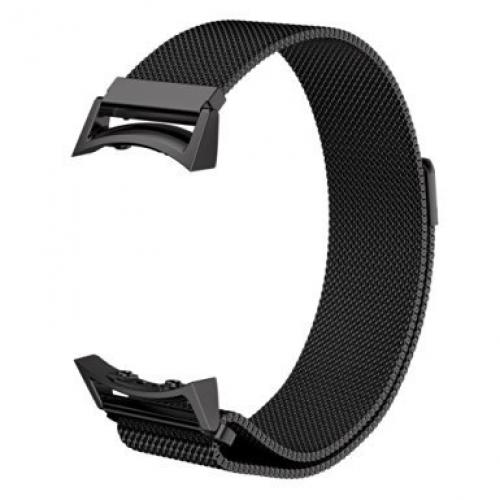 Samsung Gear S2 Watch Band - Black + Space Grey Connector