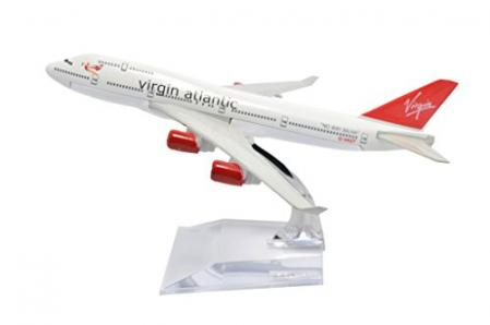 Virgin Atlantic Boeing B747-400 Metal Airplane Model Toy