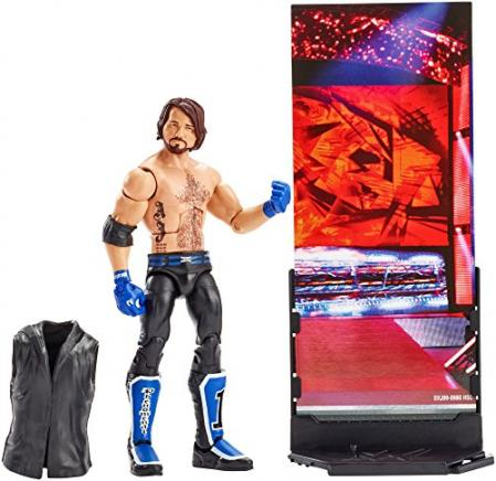 WWE Elite Collection AJ Styles Action Figure For Kids
