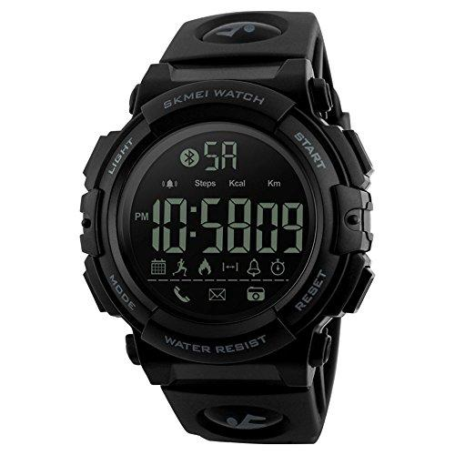 EOBP Men Outdoor Sports Smart watch Waterproof - Black