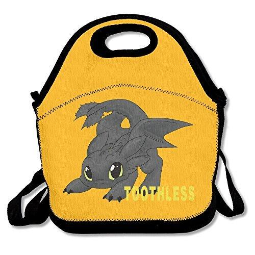 How To Train Your Dragon Toothless Lunch Box Bag For Kids wi…