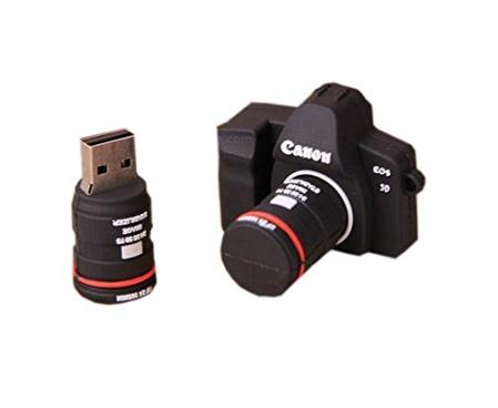 Creative Silicone Camera USB 2.0 Flash Drive 8GB By UE store