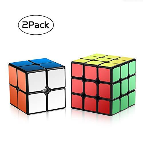 Pack of 2 Magic Smooth Puzzle Speed Cube Set By Roxenda - 2x…