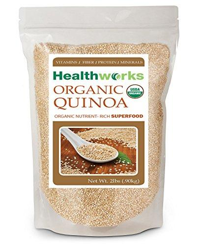Healthworks Raw Organic Quinoa White Whole Grain