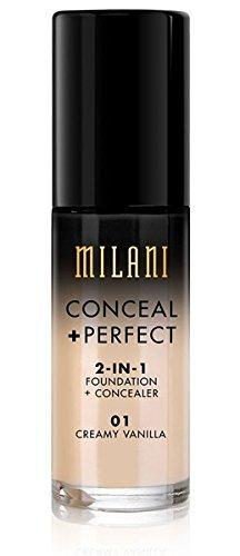 MILANI Conceal Perfect 2-In-1 Foundation + Concealer