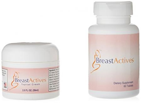 Breast Actives All Natural Breast Enhancement Treatment - Co…