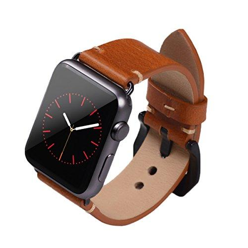 SLIFTER Leather Watch Band For Apple I Watch