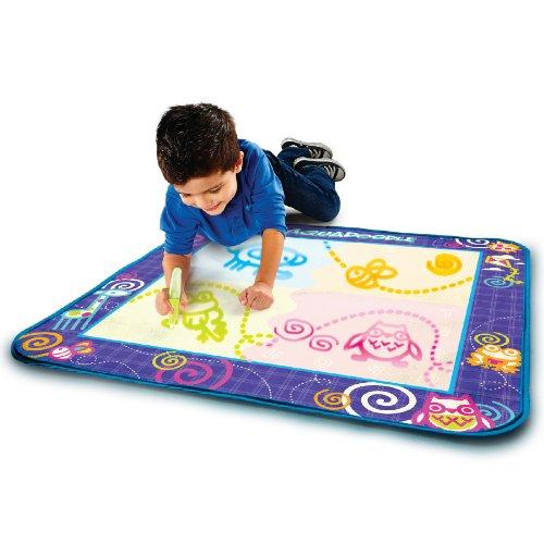 Kids Drawing Mat with Neon Color Reveal By AquaDoodle