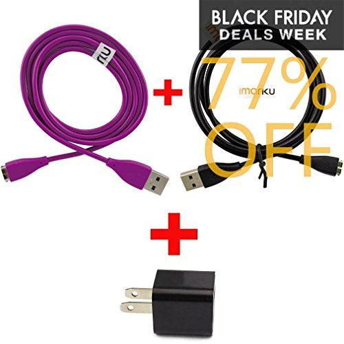 USB Charger Cable for Fitbit Charge HR Wireless Band