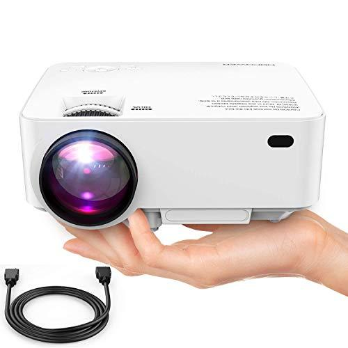 DBPOWER Mini Projector (PREAD Lamp Solution), Home Theater V…