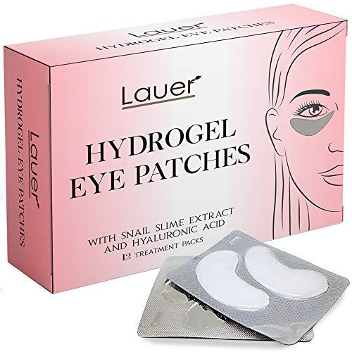 Lauer Hydrogel Eye Bags Treatment Patches, Under Eye Treatme…