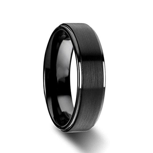 6mm Titanium Wedding Rings Band for Unisex