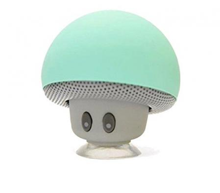 Mini mushroom Bluetooth Speaker - Wireless Portable, Turquoi…