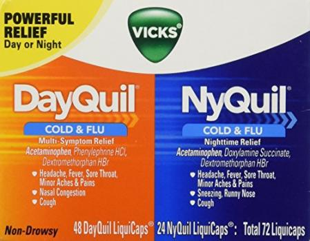 Vicks Dayquil And Nyquil Liquicaps