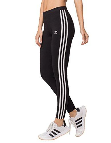 Adidas Women s 3-Stripes Leggings - Black, Medium