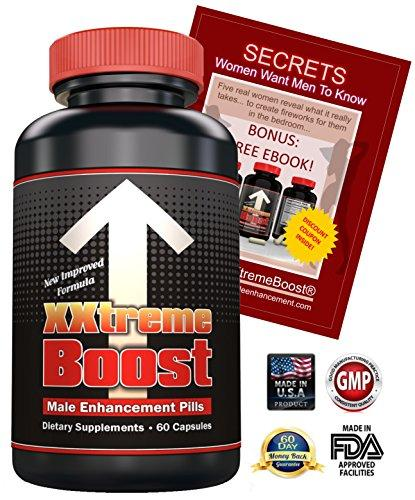 XXtremeBoost 60 Male Enhancement Pills - USA Made