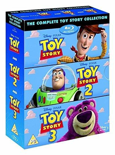 Blu-Ray The Complete Toy Story Collection 1, 2, 3