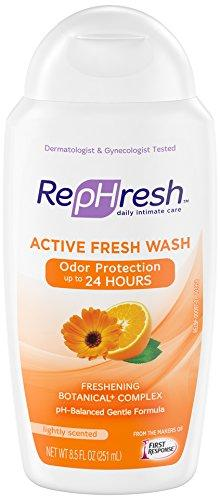 RepHresh Wash, Active Fresh, 8.5 Ounce