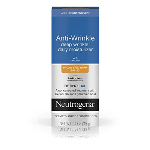 Neutrogena Ageless Intensives Anti Winkle Daily Facial Moist…