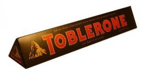 Toblerone Bar Chocolate with Honey Almond and Nougat Pack of 3 pcs