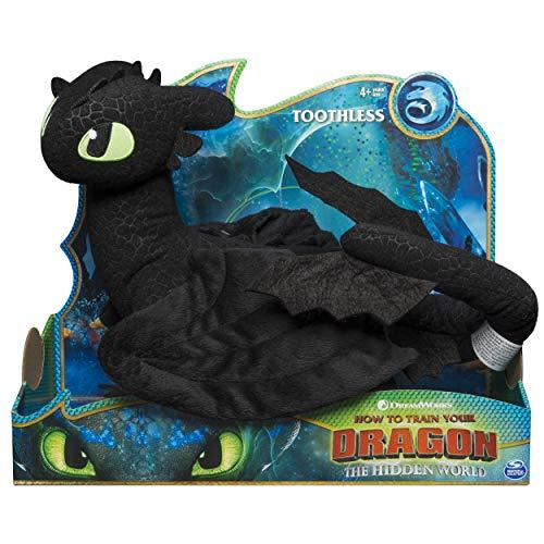 Toothless Dragon Plush Figure Toy For kids by Dreamworks Dra…
