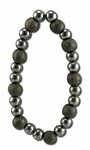 Karmalogy Beads Happiness Strength Black