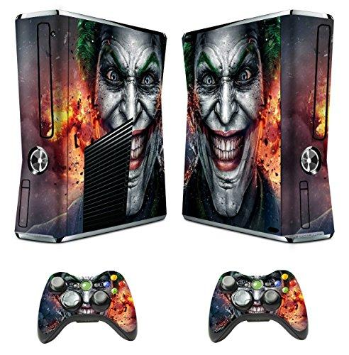 Xbox 360 Skins Joker Decals Vinyl Cover for Xbox