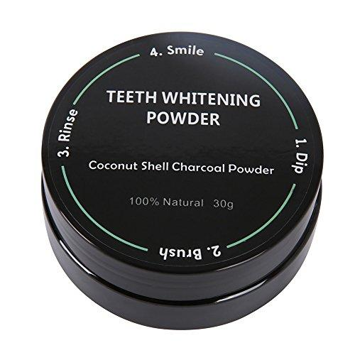 Hanyia Natural Teeth Whitening Powder for Whiter Teeth
