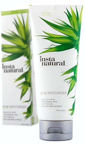 InstaNatural Acne Moisturizer Made With Salicylic Acid for O…