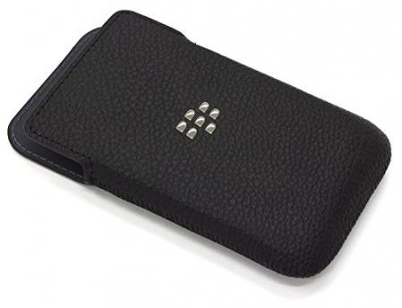 Leather Pocket Case for Blackberry Classic