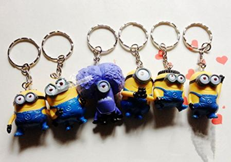 Despicable Me 2, Minion Action Figure Keychain